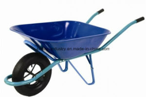 130kgs Capacity Garden Wheelbarrow with 60L Tray (wb4017) pictures & photos