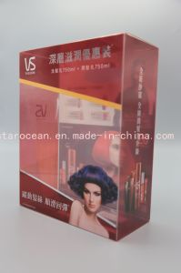 Plastic Customized Clear PVC Box for Sassoon Shampoo Box with UV Printing pictures & photos