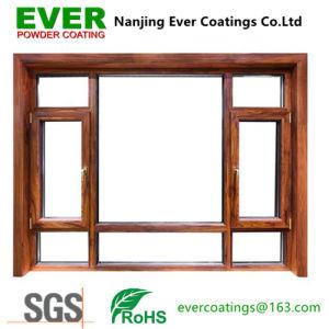 Wood Grain Effect Powder Coating for Metal Door and Aluminum Window pictures & photos