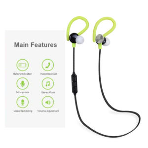 Newest Sport Wireless Bluetooth Earphone with Ear Hook pictures & photos