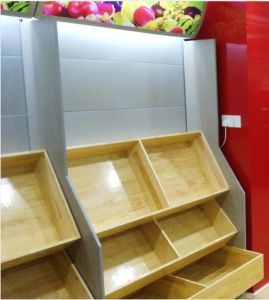 Supermarket Shelf/Display Stand  for Fruits and Vegetables pictures & photos