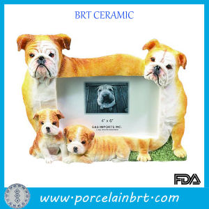 Happy Family Dogs Paper Photo Frame pictures & photos