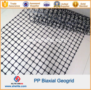 Polypropylene PP Biaxial Geogrid for Embankment Stabilization pictures & photos