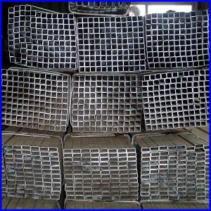 Black or Galvanized Steel Square Tube pictures & photos