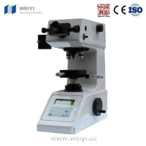 Hv-1000 Micro Vickers Hardness Tester for Lab pictures & photos