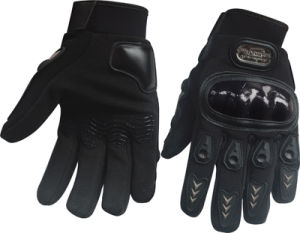 Rechargeable Heated Motorcycle Gloves Motorcycle Police Gloves pictures & photos