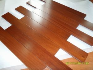 Foshan Factory Brazilian Teak Parquet Wood Flooring pictures & photos