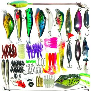 Fishing Lure Frog Ice Fishing Lure Spoon & Spinner Fishing Baits Fishing Gear