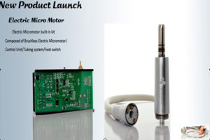 Dental Electric Motor Kit with LED Lightening System pictures & photos