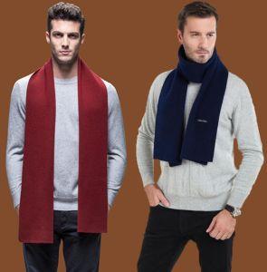 Winter Acne Scarf Plain Color Unisex Soft Wool Pashmina pictures & photos