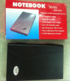 Notebook Digital Pocket Scale