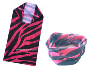 Customized Design Printed Multifunctional Cheap Polyester Promotional Tube Headwear pictures & photos