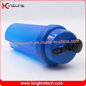 700ml Plastic Protein Shaker Bottle with Filter (KL-7026) pictures & photos