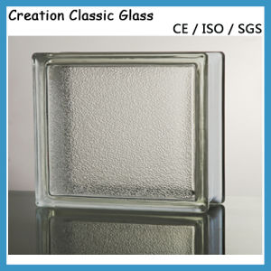 190*190*80mm Clear Cloudy Glass Block / Glass Brick pictures & photos