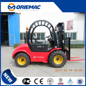 off Road Forklift Yto 2.0 Ton Rough Terrain Forklift Cpcd20 pictures & photos