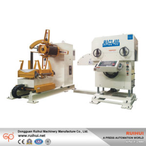 Coil Sheet Automatic Feeder with Straightener for Press Line Use in Household Appliances Manufacturers pictures & photos