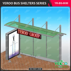 New Design Street Furniture Advertising Equipment Digital Bus Stop Shelter pictures & photos