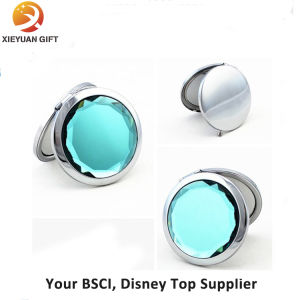 Round Shape Diamond Double Side Mirror Cosmetic pictures & photos