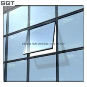 Decoration Tinted Reflective Facade Glass Curtain Wall Glass pictures & photos