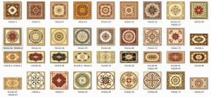 Western Style Carpet Tiles in China (BDJ60068-3) pictures & photos
