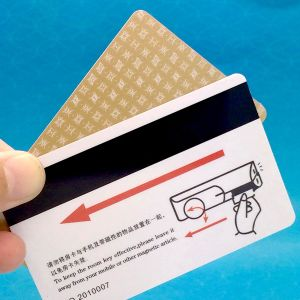 Loyalty System Plastic RFID Smart Card with Magnatic Strip pictures & photos
