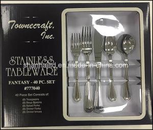 40PCS 18/10 SUS304 Cutlery Set pictures & photos
