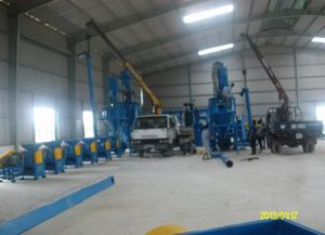 Automatic Waste Tire Processing Rubber Powder Plant pictures & photos