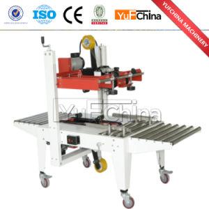 Hot Sale Semi Automatic Adhesive Tape Carton Sealer Machine Price pictures & photos