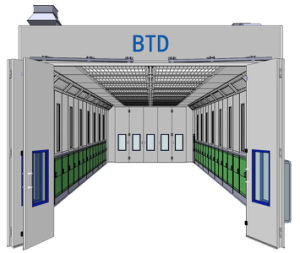 Btd 15-50-B Truck Bus Spray Booth/ Inflatable Spray Paint Booth pictures & photos