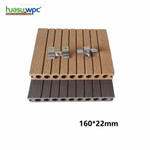 Wood Polymer Composites Decking Reversible WPC Board with Grooved Faces pictures & photos