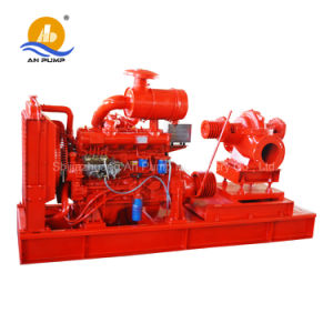 High Pressure Centrifugal Fire Fighting Diesel Water Pump pictures & photos