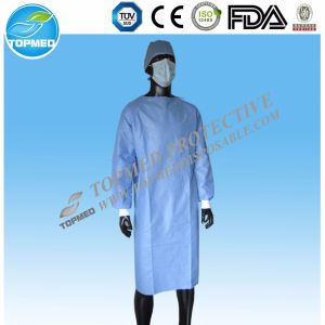 Eo-Sterilized or Not Operating Gown/ Surgical Gown pictures & photos