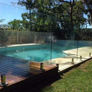 Safety Glass Fencing Tempered Laminated Glass Railing for Pool Fence pictures & photos