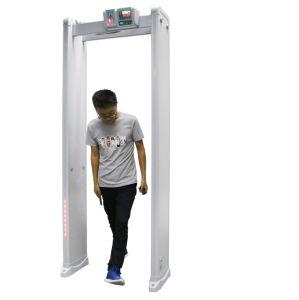 High Quality 6 Zones Door Frame Walk Through Metal Detector Door pictures & photos