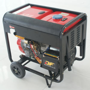 Bison (China) BS7500dce (H) 6kw 6kVA Reliable Factory Price New Type Actual Output Power 3 Phase Diesel Generator pictures & photos