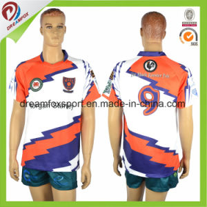 Custom Sublimated Cheap Practice Rugby Uniforms pictures & photos