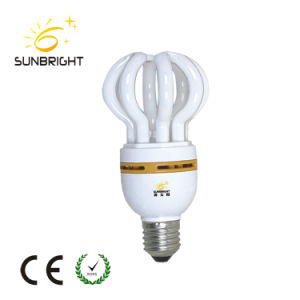 30W 220V Lotus Energy Saving Fluorescent Light Bulb pictures & photos