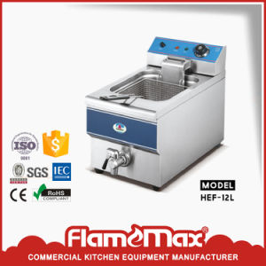1-Tank 2-Basket Gas Fryer (HGF-74) pictures & photos