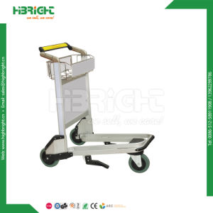 Supermarket Heavy Duty Warehouse Foldable Cargo Trolley pictures & photos
