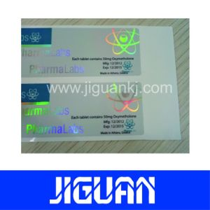 10ml Laser Pharmaceutical Label for Mastapro P 100 pictures & photos