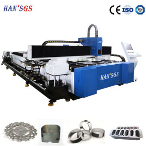Hans GS 1000W Tube Laser Cutter for Metal Plate Cutting pictures & photos
