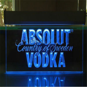 Custom Acrylic LED Advertising Board pictures & photos