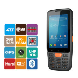 4 Inch Touch Rugged Handheld Industrial Mobile PDA with 1d 2D Bar Code Reader and NFC pictures & photos