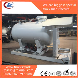 Moveable Lliquid Gas Filling Into Cylinder Skid LPG Tank Station pictures & photos