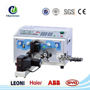 High Precision CNC Automatic Wire Cable Stripping Twisting Machine pictures & photos
