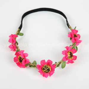 Artificial Flower Headband for Hair Accessories pictures & photos