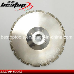 Long Life Electroplate Small Blade for Cutting Granite pictures & photos