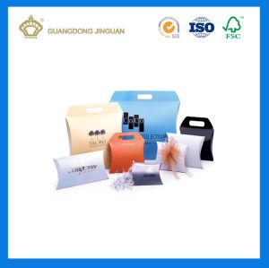 Wholesale Custom Logo Die Cut Paper Pillow Box (China manufacturer) pictures & photos