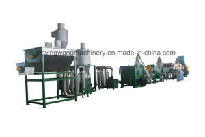PE PP Waste Plastic Film Washing and Recycling Line pictures & photos