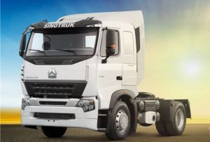Sinotruk 420HP Tractor Truck with Advanced Cab pictures & photos